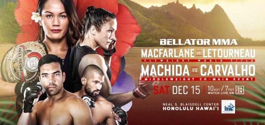 Результаты Bellator 213: Macfarlane vs. Letourneau