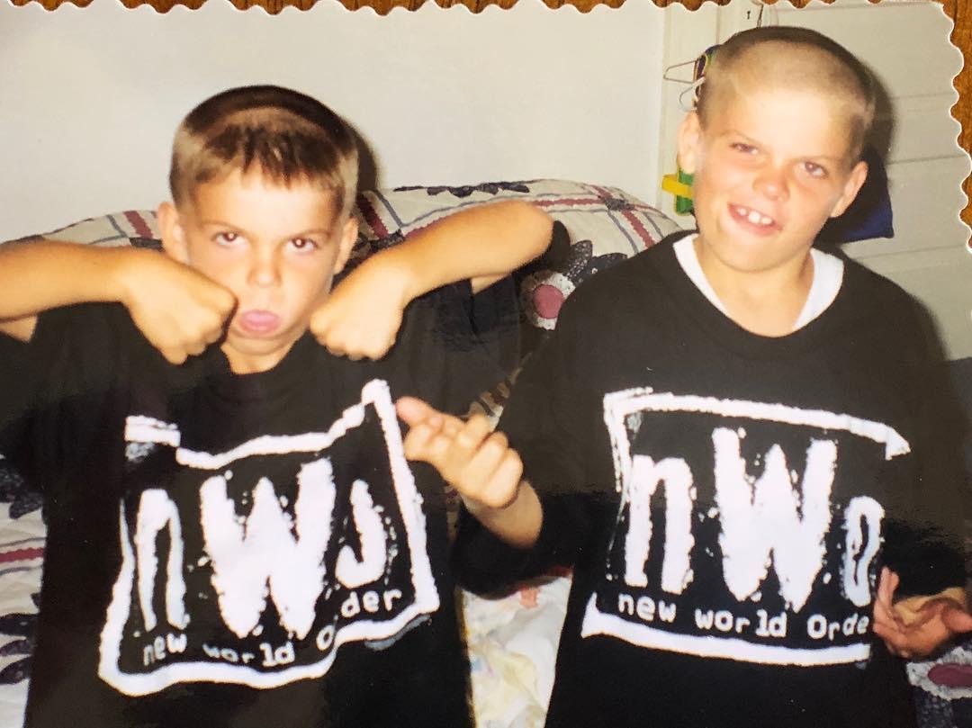 Коди Гарбрандт с братом