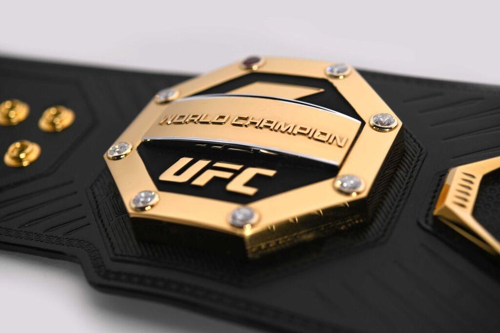 Новый чемпионский пояс UFC