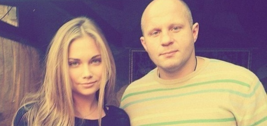 Мария и Федор Емельяненко