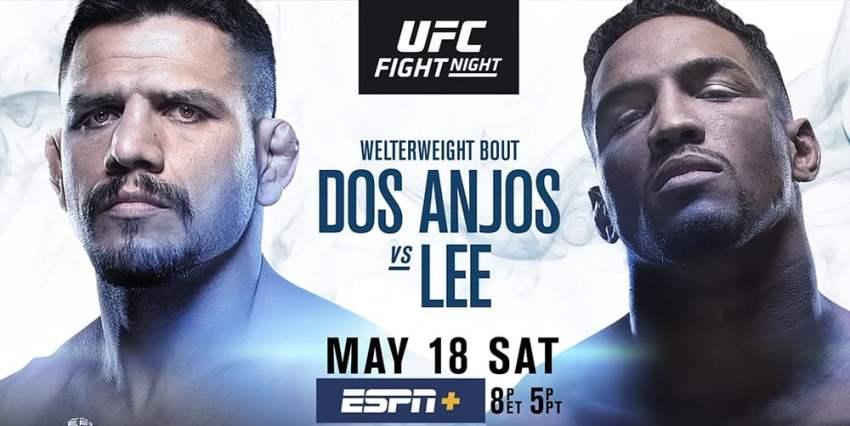 Результаты и бонусы UFC Fight Night 152: Dos Anjos vs. Lee
