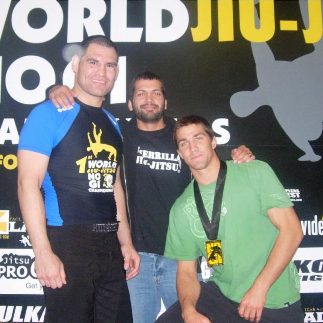 Кейн Веласкес и Люк Рокхолд в 2007