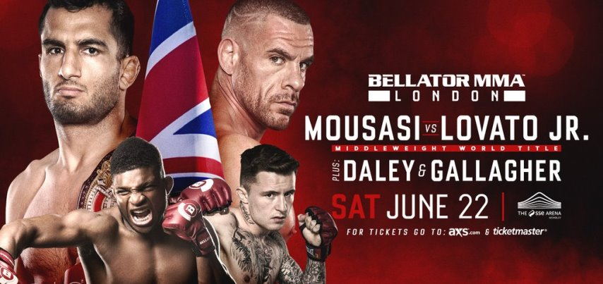 Результаты Bellator London: Mousasi vs. Lovato