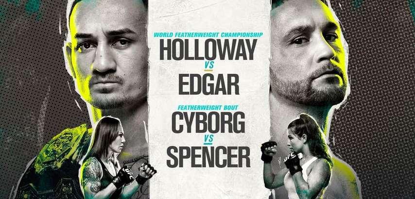 Результаты и бонусы UFC 240: Holloway vs. Edgar