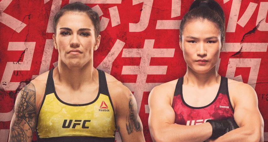 Результаты и бонусы UFC Fight Night 157: Andrade vs. Zhang