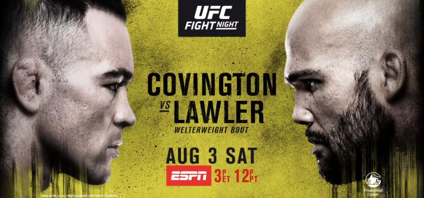 Результаты и бонусы UFC on ESPN 5: Covington vs. Lawler
