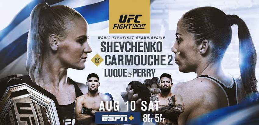 Результаты и бонусы UFC Fight Night 156: Shevchenko vs. Carmouche