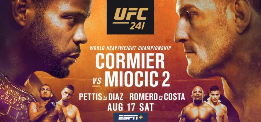 Результаты и бонусы UFC 241: Cormier vs Miocic 2