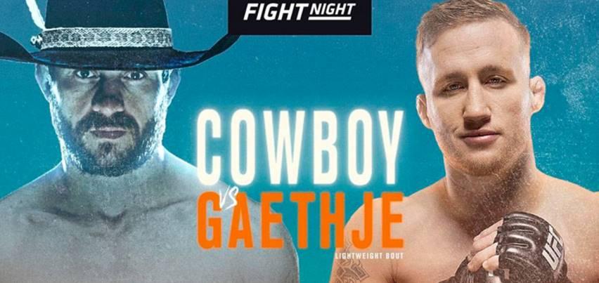 Результаты и бонусы UFC Fight Night 158: Cowboy vs Gaethje