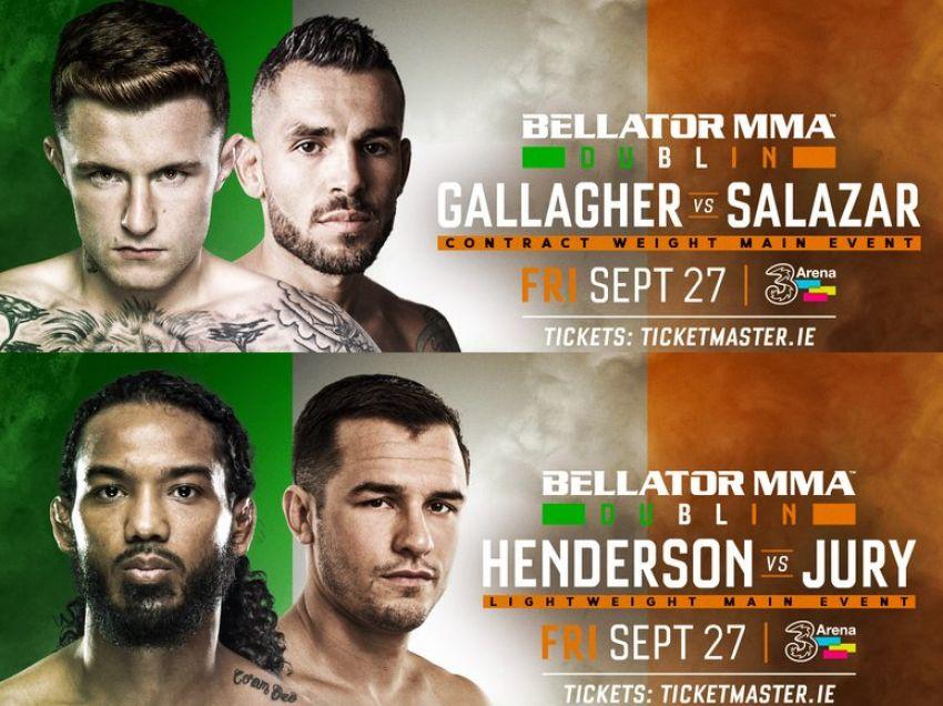 Результаты Bellator Dublin/Bellator 227