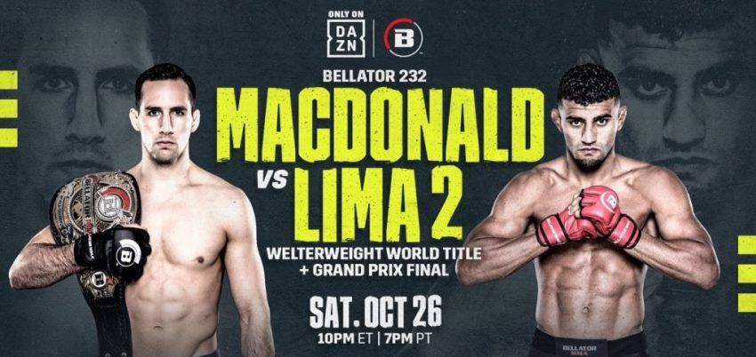 Результаты Bellator 232: MacDonald vs. Lima 2