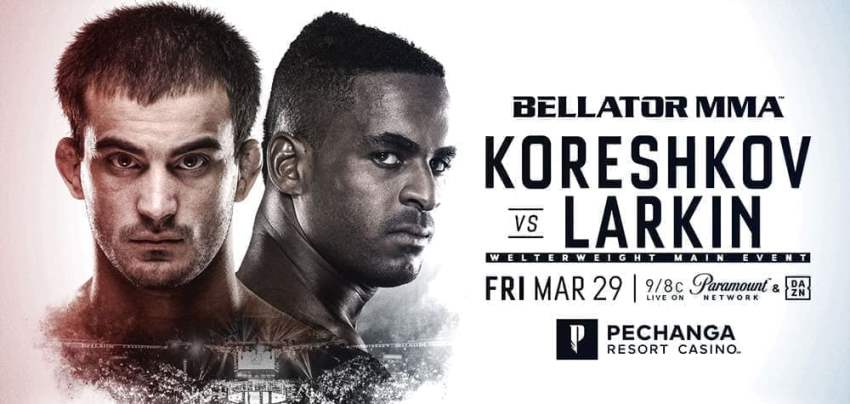 Результаты Bellator 229: Koreshkov vs. Larkin