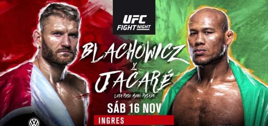 Результаты и бонусы UFC Fight Night 164: Blachowicz vs. JacareРезультаты и бонусы UFC Fight Night 164: Blachowicz vs. Jacare
