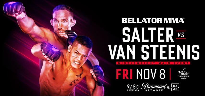 Результаты Bellator 233: Salter vs. van Steenis