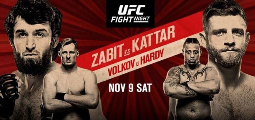 Результаты и бонусы UFC Fight Night 163: Magomedsharipov vs. Kattar