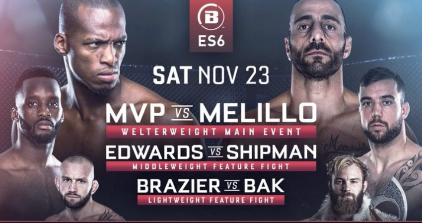 Результаты Bellator London: MVP vs. Melillo