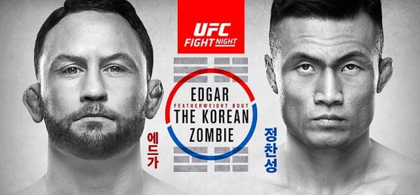 Результаты и бонусы UFC Fight Night: Edgar vs. The Korean Zombie