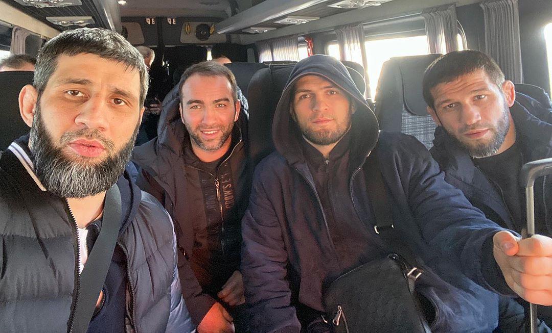 Камил Гаджиев, Хабиб Нурмагомедов, Шамиль Завуров