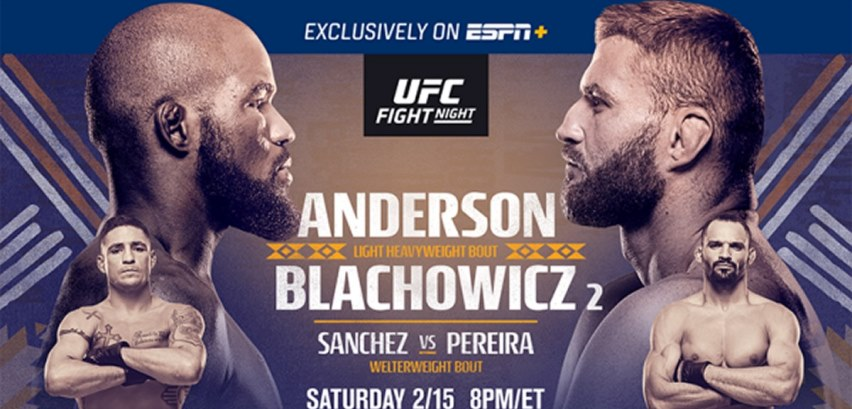Результаты и бонусы UFC Fight Night 167: Anderson vs. Blachowicz 2