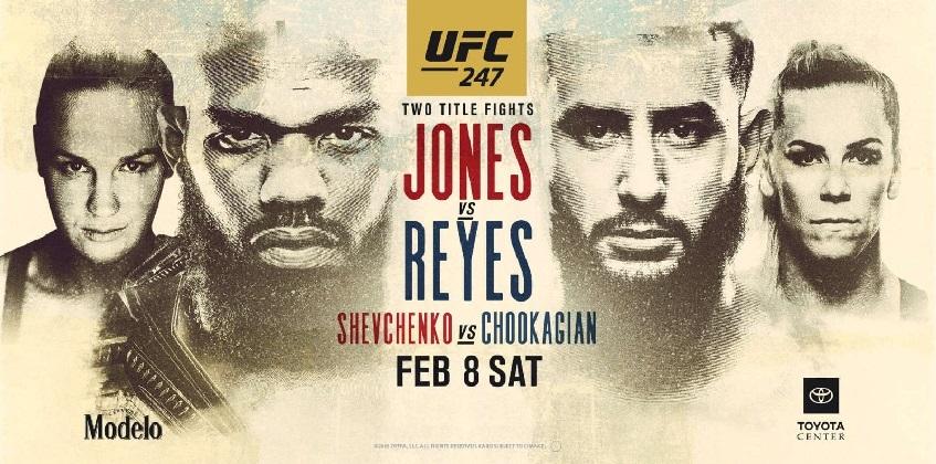 Результаты и бонусы UFC 247: Jones vs. Reyes