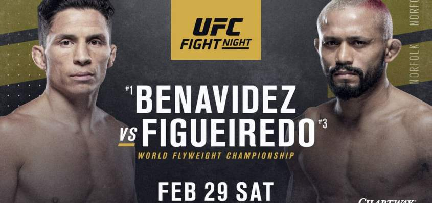 Результаты и бонусы UFC Fight Night 169: Benavidez vs. Figueiredo