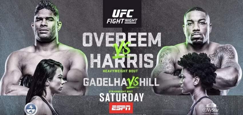 Результаты и бонусы UFC Fight Night 172: Overeem vs. Harris