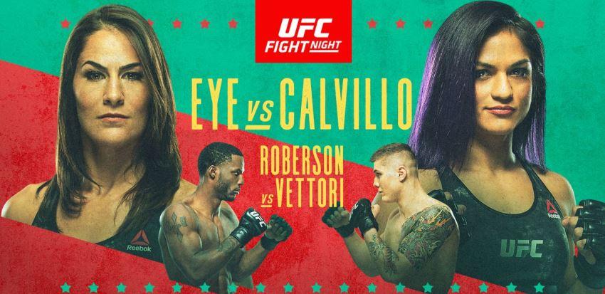 Результаты и бонусы UFC on ESPN: Eye vs. Calvillo