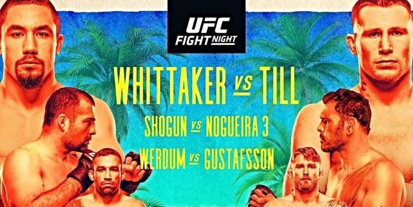 Результаты и бонусы UFC on ESPN 14: Whittaker vs. Till