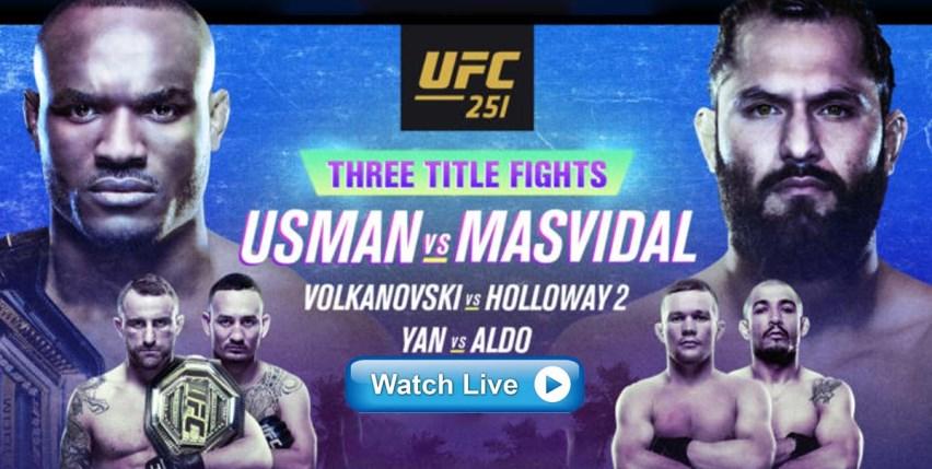 Результаты и бонусы UFC 251: Usman vs. Masvidal