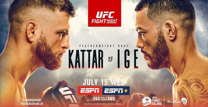 Результаты и бонусы UFC on ESPN 13: Kattar vs. Ige
