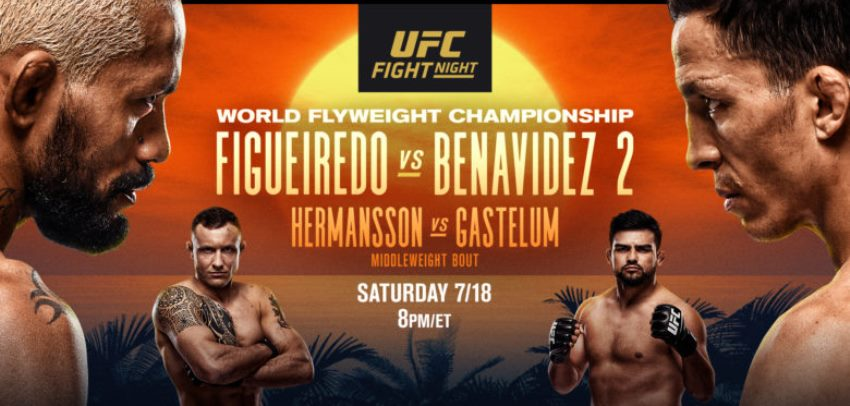 Результаты и бонусы UFC Fight Night: Figueiredo vs. Benavidez 2