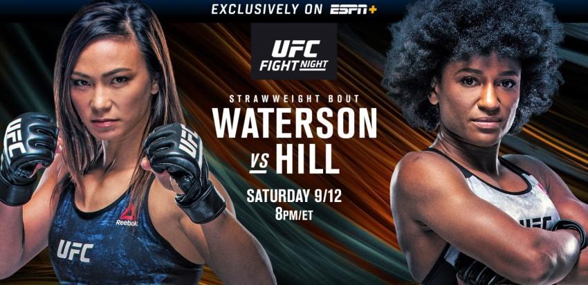 Результаты и бонусы UFC Fight Night 177: Waterson vs. Hill