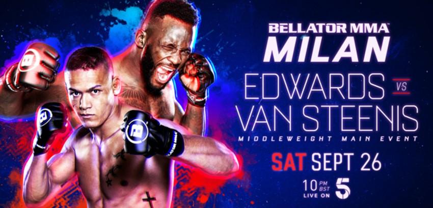Результаты Bellator Euro Series 8: Edwards vs. Van Steenis