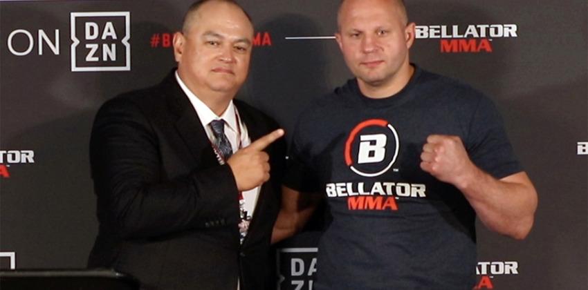 Скотт Кокер и Федор Емельяненко