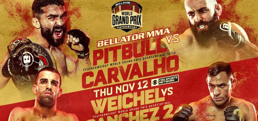Результаты Bellator 252: Pitbull vs. Carvalho