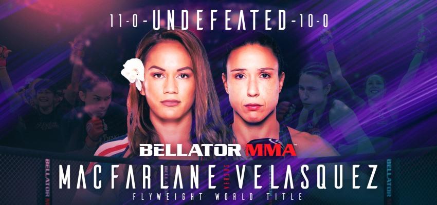 Результаты Bellator 254: Macfarlane vs. Velasquez