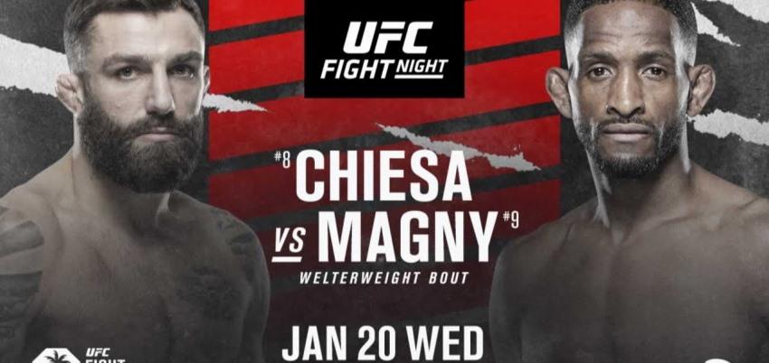 Результаты и бонусы UFC on ESPN 20: Chiesa vs. Magny