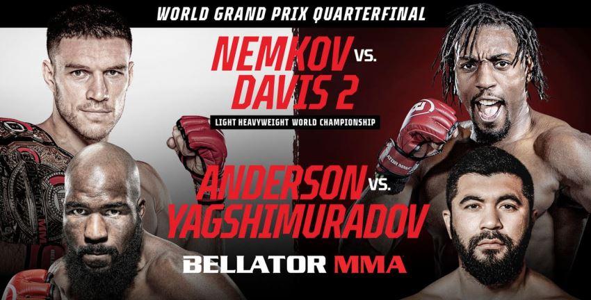 Результаты Bellator 257: Nemkov vs. Davis 2