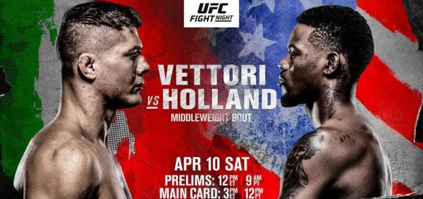 Результаты и бонусы UFC on ABC 2: Vettori vs. Holland