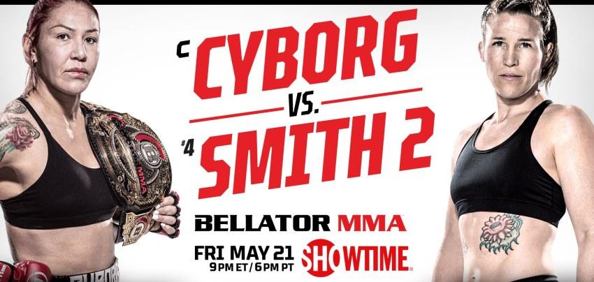 Результаты Bellator 259: Cyborg vs. Smith 2