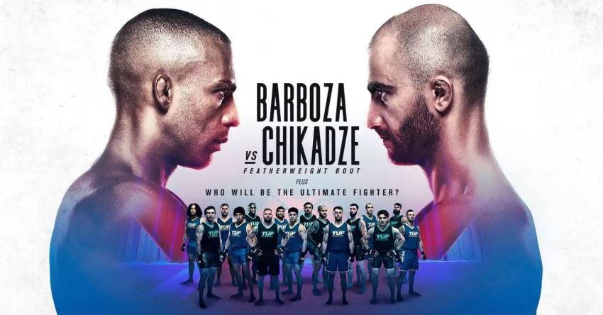 Результаты и бонусы UFC on ESPN 30: Barboza vs. Chikadze