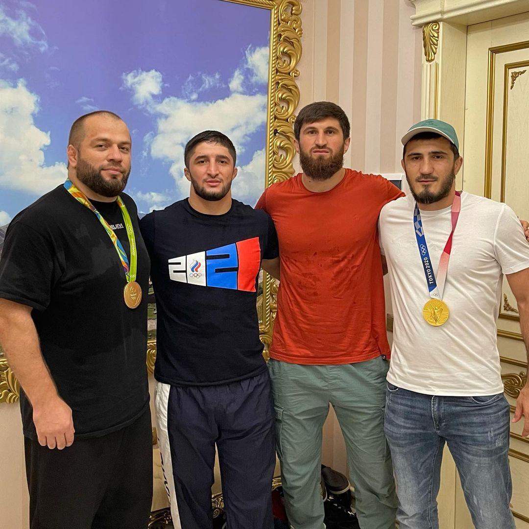 Магомед Маликов, Абдулрашид Садулаев, Магомед Анкалаев, Рамазан Эмеев