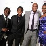 Андерсон Силва с семьей