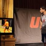 Гегард Мусаси (справа), телевизор