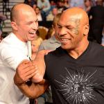 Член Зала Славы UFC Ройс Грейси и Майк Тайсон