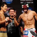 Такея Мицугаки (слева) - Эрик Перес