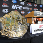 Пояс чемпиона UFC в легком весе
