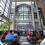 Аудитория пресс-конференции