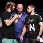Тим Эллиотт (слева) - Али Багаутинов