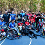 Бойцы UFC в реабилитационном центре для детей-инвалидов